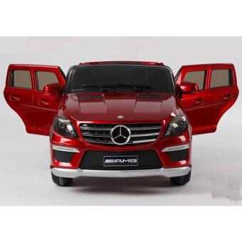 voiture lectrique enfant mercedes ml63 t l commande 12v rouge v hicule lectrique pour. Black Bedroom Furniture Sets. Home Design Ideas