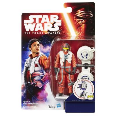 Hasbro - B3449 - Star Wars : The Force Awakens - Poe Dameron - Figurine 9 cm + Accessoires