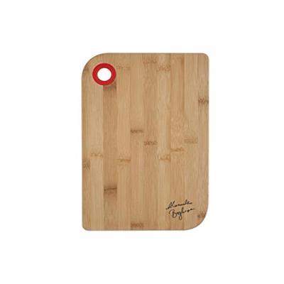 H&h planche à découper, bambou, bois/rouge, 20x30x1 cm, alessandro borghese le luxe de la simplicité
