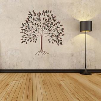 Decoration Murale De Style Contemporain En Forme Arbre En Metal