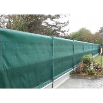 Brise vue 1.5x10m 220g-vert-Bache brise vue, jardin, terrasse ...