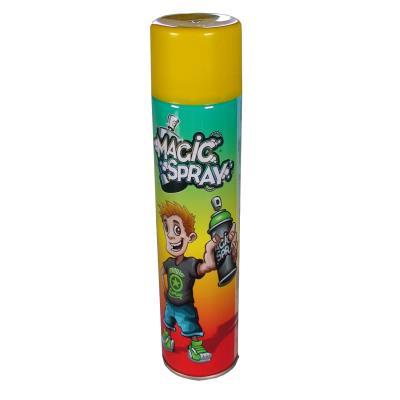 Bombe magic spray : jaune oid magic