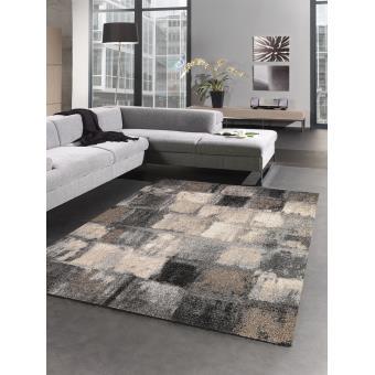4712 sur tapis carreaulegant 01 tapis moderne par les tapis 80 x 150 cm achat prix fnac - Tapis Moderne