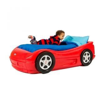 little tikes 170409e13 jouet de premier age lit voiture de course avec matelas lit pour. Black Bedroom Furniture Sets. Home Design Ideas