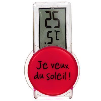 Thermomètre Digital d'extérieur - Je veux du Soleil