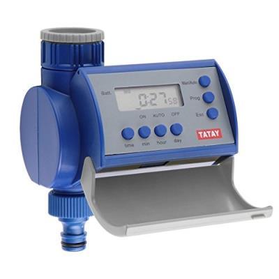 Tatay 0045101 Programmateur D'Arrosage Automatique Plastique Bleu Dimensions 12 X 9 X 12 Cm