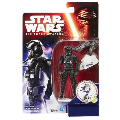 Hasbro - B3450 - Star Wars : The Force Awakens - Pilote de TIE Fighter du Premier Ordre - Figurine 9 cm + Accessoires