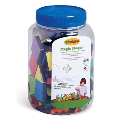 Bsm Magic Shapes - 135 Pieces Ed 977135