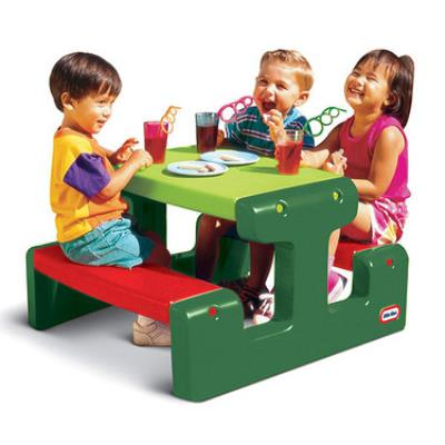 Little Tikes - 479A00060 - Table de Pique-Nique Junior Evergreen