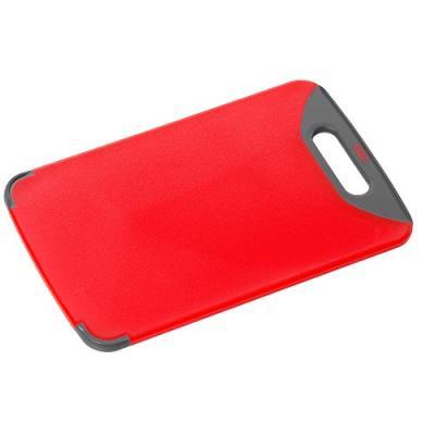 Silit 0020.7680.01 planche à découper 32 x 20 cm antibactérien rouge