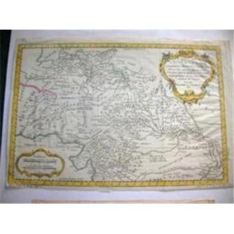 Carte De Linde Avec Le Gange.Carte Ancienne Carte De L Inde En Deca Du Gange Comprenant L