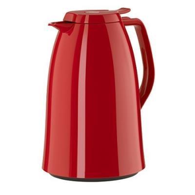 Emsa 517007 mambo pichet isotherme acier inoxydable plastique rouge brillant 18 x 18 x 12 cm 1 l e517007