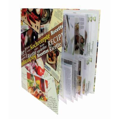 Album pour recettes de cuisine