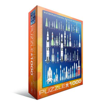 Puzzle fusées spatiales