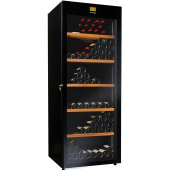 cave vin de service multi temp ratures 294 bouteilles noir avintage aci avi437. Black Bedroom Furniture Sets. Home Design Ideas