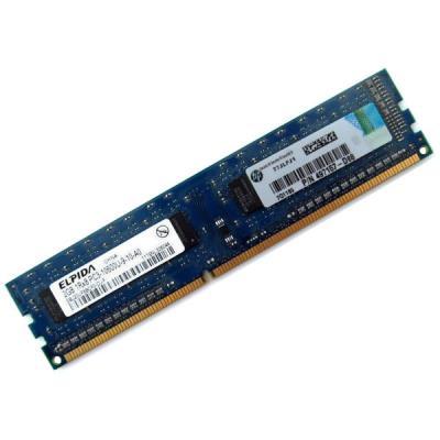 Fabricant : ELPIDA P/N : EBJ20UF8BCF0-DJ-F Puce : Variable selon Lot Type de Module : DDR3 SDRAM Type de Bus : PC3-10600U Fréquence : 1333Mhz Densité : 2Go Disposition Physique : Une Face, 240-Pin DIMM Latence CAS : CL9 Voltage : 1.5v Code de Correction d