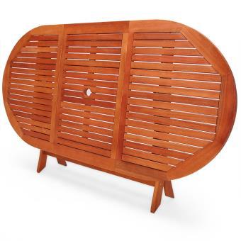 Table de jardin pliable \