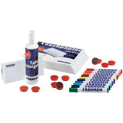 FRANKEN Kit de démarrage pour tableau blanc, magnétique et
