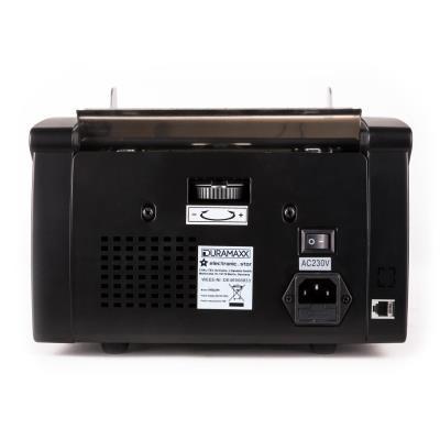 oneConcept buffett d/étecteur de faux billets fonction liasse, 3 modes de contr/ôle : UV, IR, magn/étique, toutes monnaies Compteuse de billets - noir
