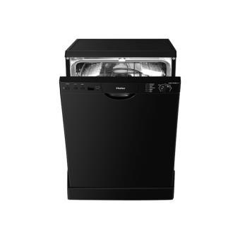 haier dw12 tfe3bl f lave vaisselle pose libre 60 cm noir achat prix fnac. Black Bedroom Furniture Sets. Home Design Ideas