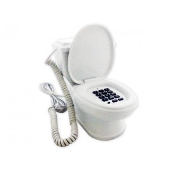 f842342aa0f6a2 Téléphone toilettes délirant, filaire fixe insolite marrant déco original,  Autre moyen gagdet, Top Prix   fnac
