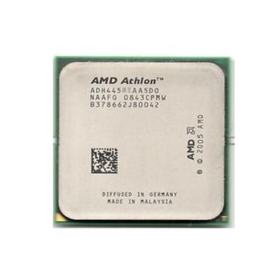Référence : AMD Atlhon x2 4450e / ADH4450IAA5D0Nombre de coeurs : 2Fréquence : 2.3 GhzSocket carte mère : AM2L2 Cache: 512koNombr