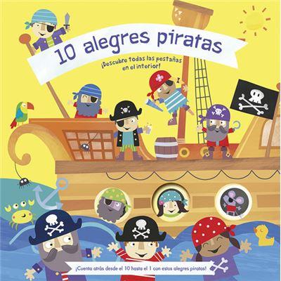10 Alegres Piratas - [Livre en VO]
