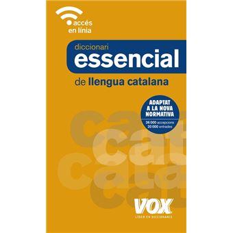 Diccionari essencial llengua catala