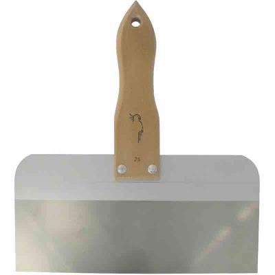 Outibat - Couteau à enduisage inox - spécial plaque de plâtre 35 cm