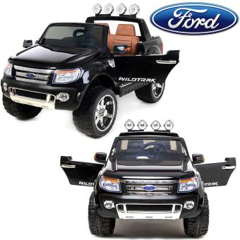 4x4 voiture lectrique enfant ford ranger 12v 2 places en simili cuir noir v hicule lectrique. Black Bedroom Furniture Sets. Home Design Ideas