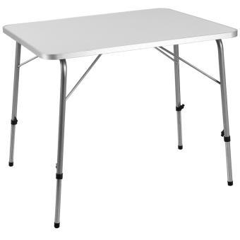 table pliante en aluminium camping jardin meuble balcon terrasse 80x60 cm mobilier de jardin achat prix fnac