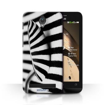 Coque De Stuff4 Etui Housse Pour Asus Zenfone C ZC451CG Cuillere Rayures Design Art Abstrait Collection