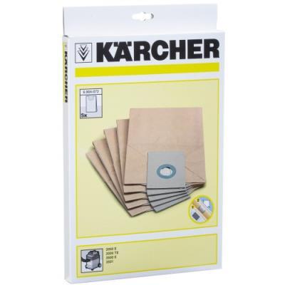 Kärcher 6.904-072 lot de 5 filtres en papier (import allemagne)