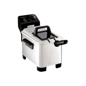 Moulinex AM333070 EASY PRO - friteuse - roestvrij staal/zwart