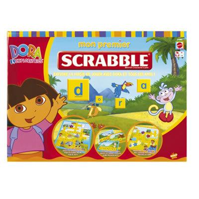 Mattel - Mon premier scrabble dora