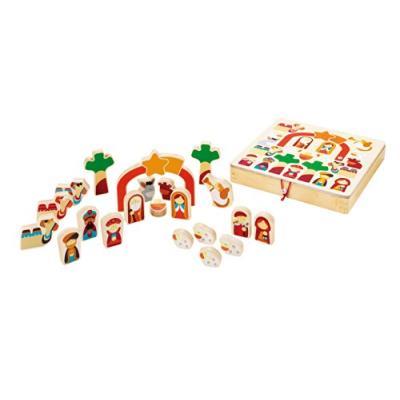 Sevi - 82640 - jeu de construction - play puzzle noël