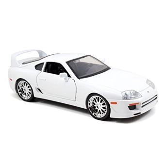 jada toys 97509w toyota supra fast and furious 7 1 18 blanc voiture achat prix. Black Bedroom Furniture Sets. Home Design Ideas