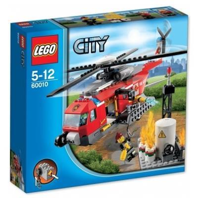 Lego 60010 City - L'hélicoptère des pompiers