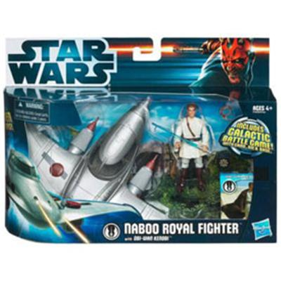 Star Wars Vehicule et Figurine