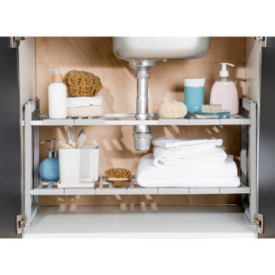 Prime Compactor Kitchen Ran7011 Etagere Extensible Sous Evier Metal Gris 48 X 30 X 40 Cm Interior Design Ideas Gentotryabchikinfo