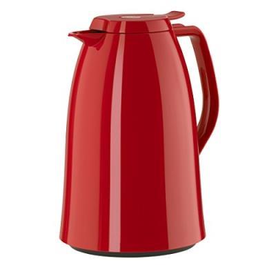 Emsa 517011 mambo pichet isotherme acier inoxydable plastique rouge brillant 18 x 18 x 12 cm 1,5 l e517011