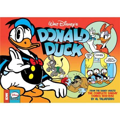 Walt Disney'S Donald Duck: The Sunday Newspaper Comics Volume 1 (Walt Disney Donald Duck Sunday Newpaper Comics Hc) (Hardcover)