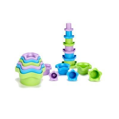 Green Toys - Empilable - Green Toys : Etoiles empilées