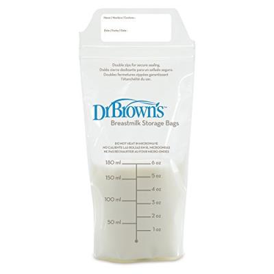Dr brown's bouteille de conservation lait maternel- lot de 3 bouteilles - 120 ml