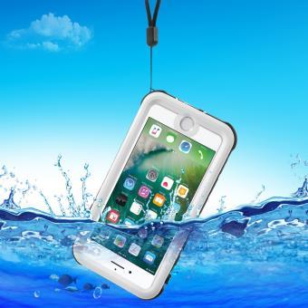 Coque en TPU REDPEPPER etanche pour iPhone 7 IP68 Blanc