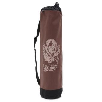 Yogistar sac pour tapis de yoga basic ganesha multicolore noir ...