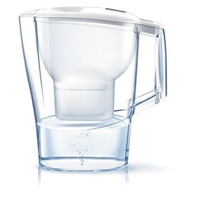 Brita aluna carafe filtrante plastique blanc 26,5 x 11 x 27,5 cm