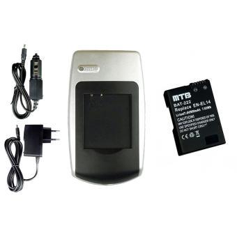 chargeur batterie en-el14