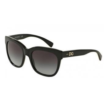 cbf0a16d52 Lunettes de Soleil Dolce Gabbana DG4272 30038G 53 Noir Femme - Lunettes -  Achat & prix | fnac