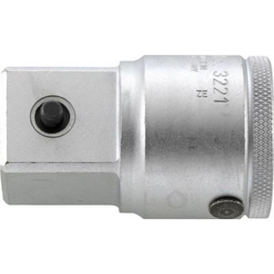 Adaptateur 3/4'' sécurisé par goupille, Long. : 60 mm
